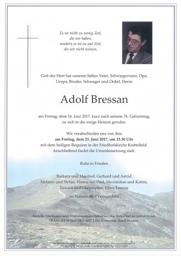 Adolf Bressan