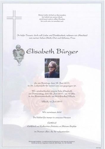 Elisabeth Bürger