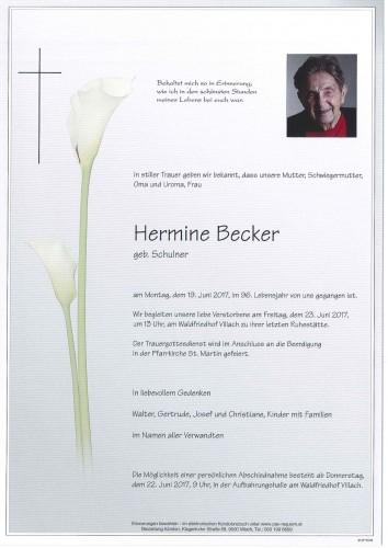 Hermine Becker