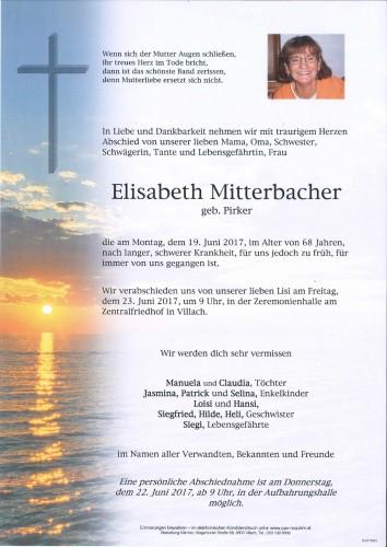 Elisabeth Mitterbacher