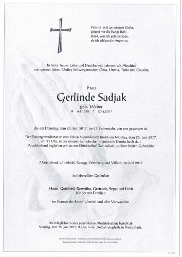 Gerlinde Sadjak