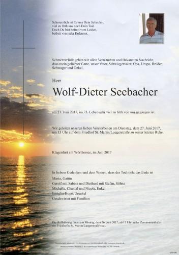 Wolf-Dieter Seebacher