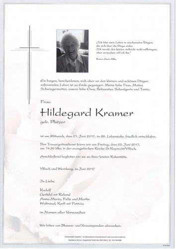 Hildegard Kramer