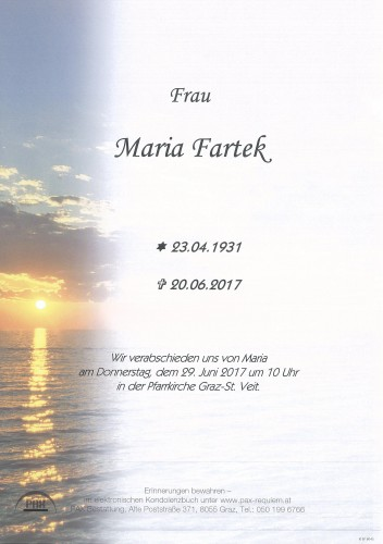 Maria Fartek