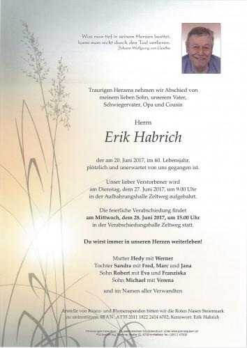 Erik Habrich