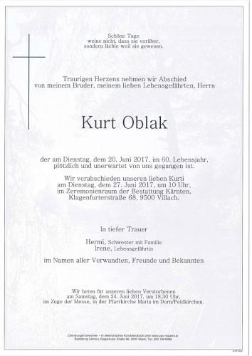 Kurt Oblak