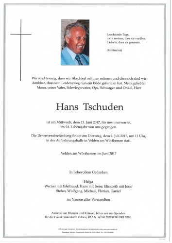 Hans Tschuden