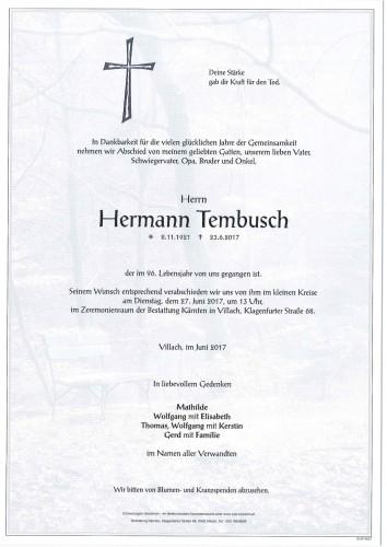 Hermann Tembusch