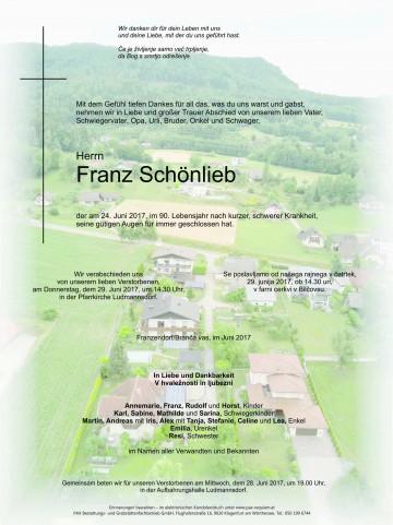 Franz Schönlieb