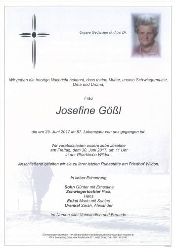 Josefine Gößl