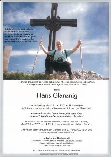 Hans Glanznig