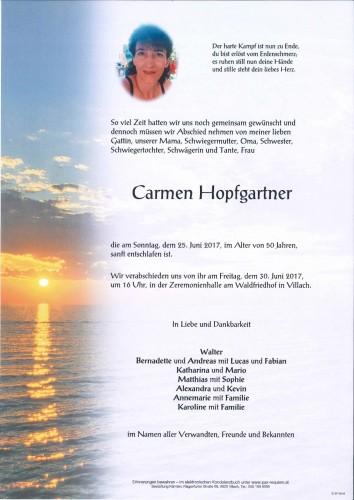 Carmen Hopfgartner