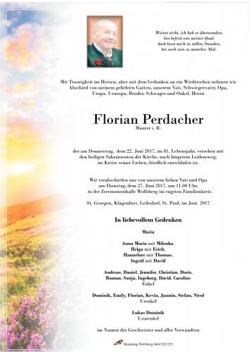 Florian Perdacher