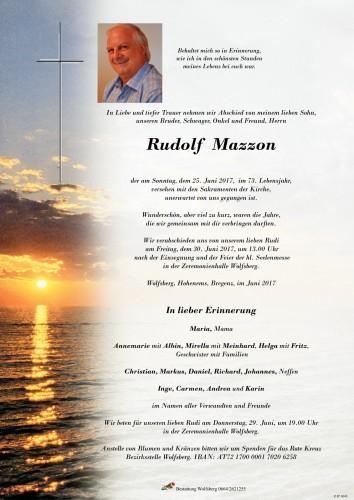 Umberto Rudolf Mazzon