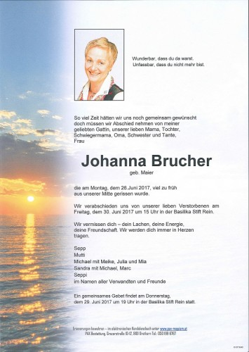 Johanna Brucher