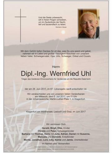 Dipl.-Ing. Wernfried Uhl