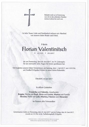 Florian Valentinitsch