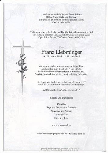 Franz Liebminger