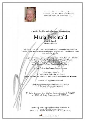 Maria Perchtold
