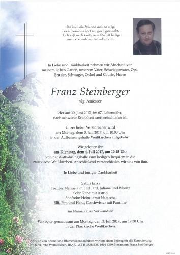 Franz Steinberger, vlg. Amesser