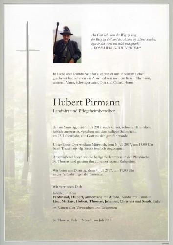 Hubert Pirmann