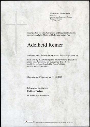 Adelheid Reiner