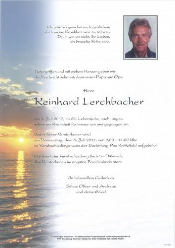 Reinhard Lerchbacher
