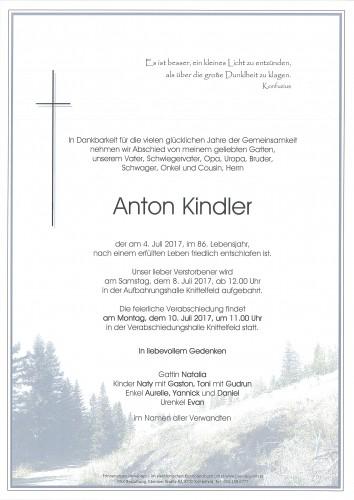 Anton Kindler