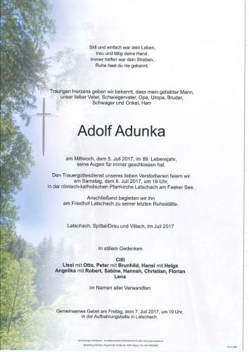 Adolf Adunka