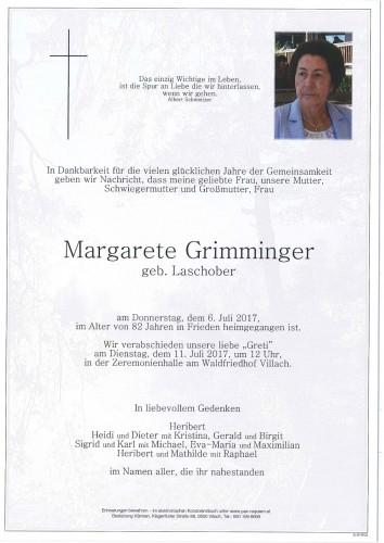 Margarete Grimminger