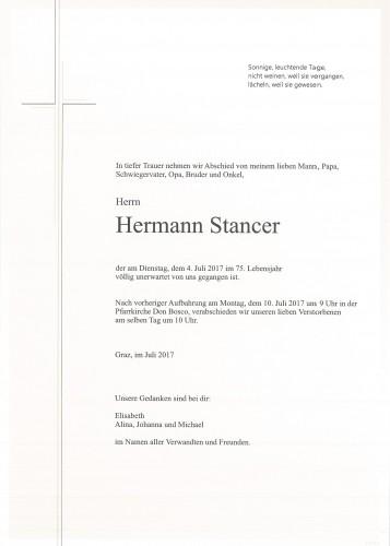 Hermann Stancer