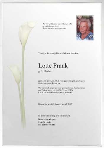 Lotte Prank