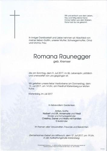 Romana Raunegger