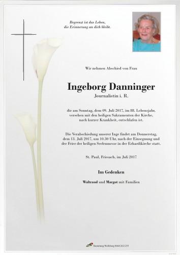 Ingeborg Danninger