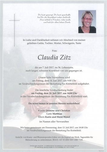 Claudia Zitz