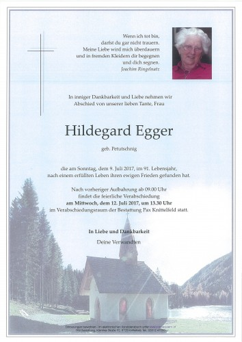 Hildegard Egger