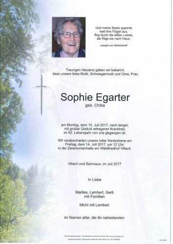 Sophie Egarter