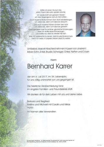 Bernhard Karrer