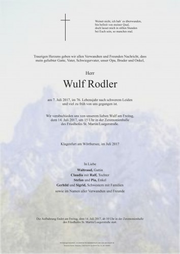 Wulf Rodler