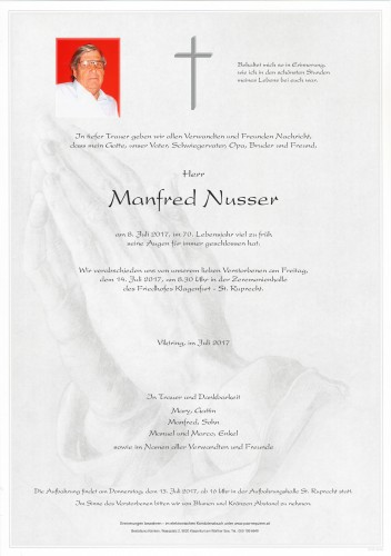 Manfred Nusser