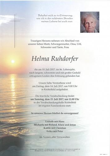 Helma Ruhdorfer