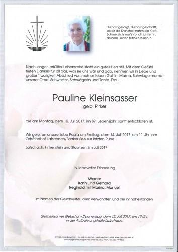 Pauline Kleinsasser