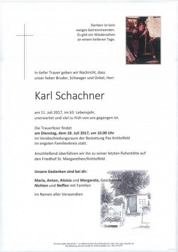 Karl Schachner