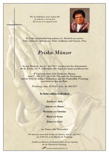 Priska Münzer