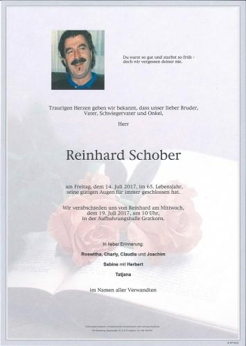 Alois Reinhard Schober