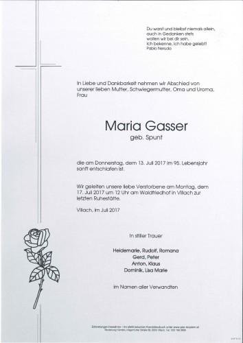 Maria Gasser