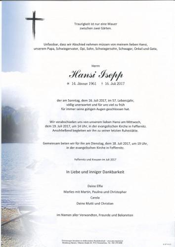 Hansi Isepp