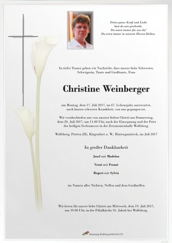 Christine Weinberger