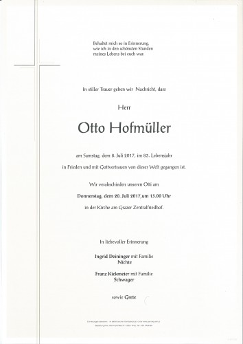 Otto Hofmüller