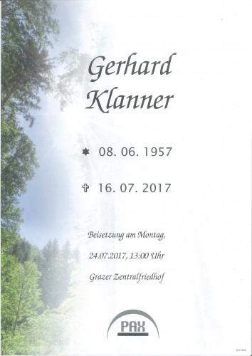 Gerhard Klanner